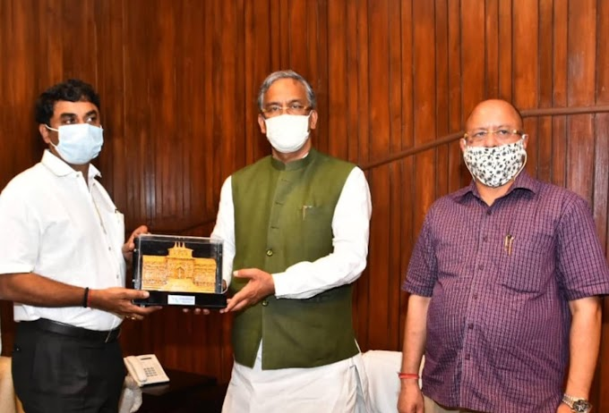 त्रिवेंद्र सरकार की बड़ी पहल रक्षा उपकरणों का हब बनेगा उत्तराखंड- रंग लाने लगी डॉ पंवार की मेहनत रंग लाने लगी