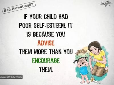 如果你的孩子缺乏自信心,其实是因为你给他们的建议多过了鼓励。
