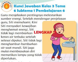 Kelas 3 Tema 6 Subtema 1 Pembelajaran 6 www.simplenews.me