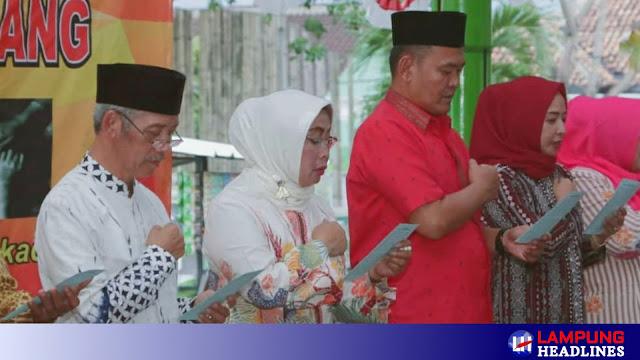 Do'a Bersama Lintas Iman di Pendopo Kabupaten Pringsewu
