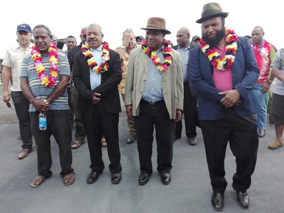 1st LD Writethru: PNG parliament elects James Marape as new PM