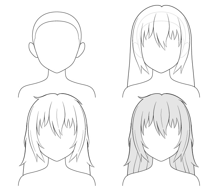 rambut anime long mesy