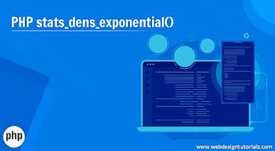 PHP stats_dens_exponential() Function