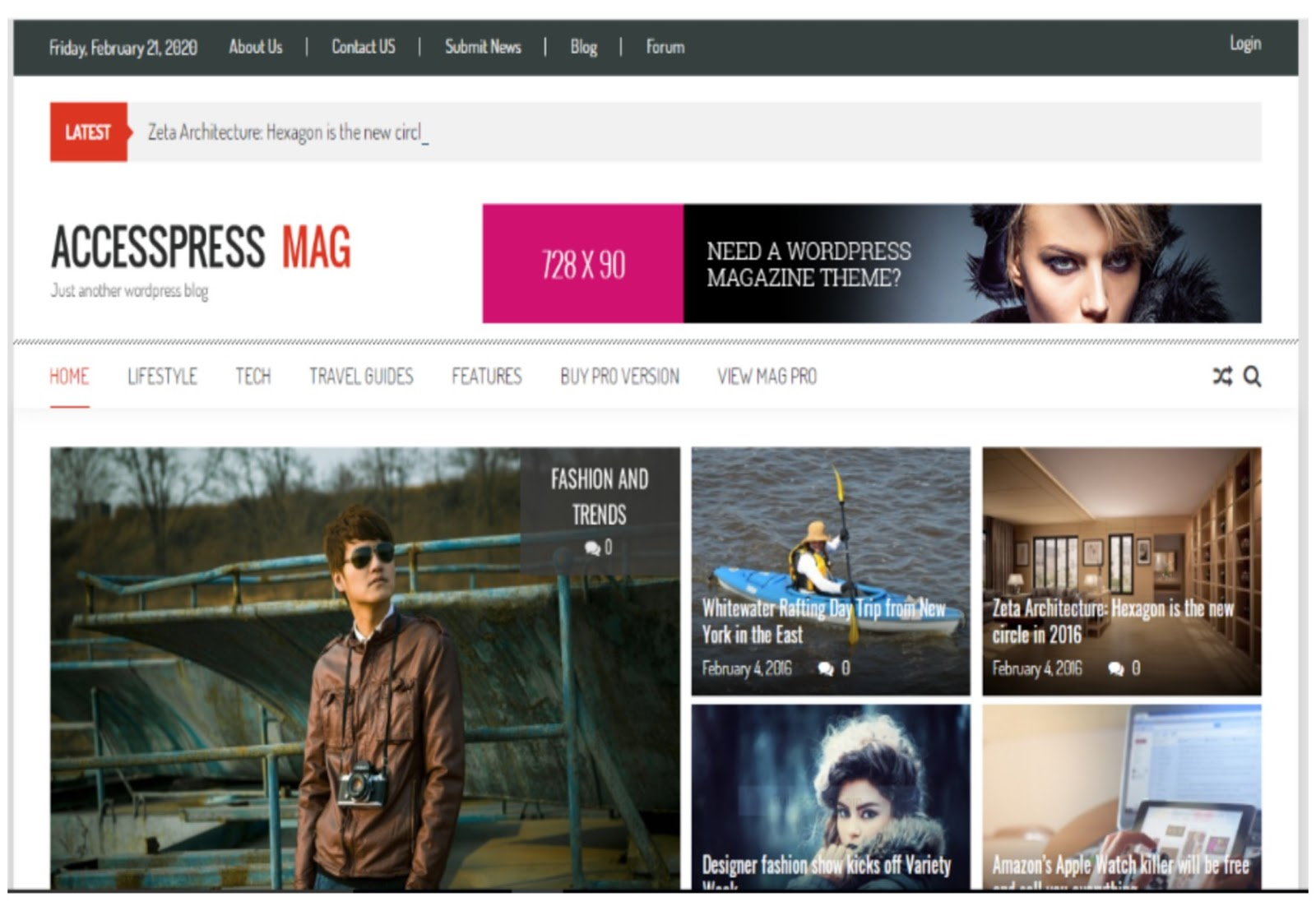 AccessPress Mag WordPress Theme