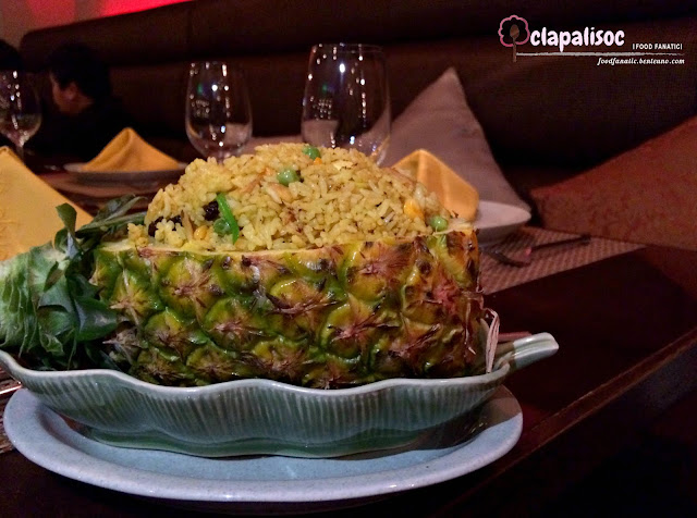 Khao Ob Supparod, Pineapple Fried Rice