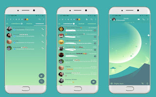 Awesome Theme For YOWhatsApp & Fouad WhatsApp By Leidiane