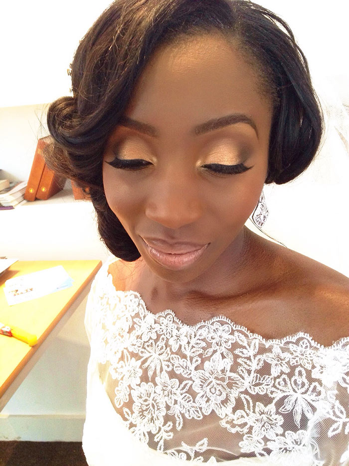 Maquiagem para noivas pele negra