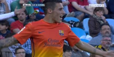 LFP-Week-31 : Zaragoza 0 vs 3 Barcelona 14-04-2013