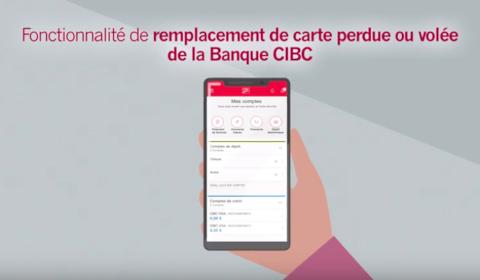 Remplacement de carte CIBC