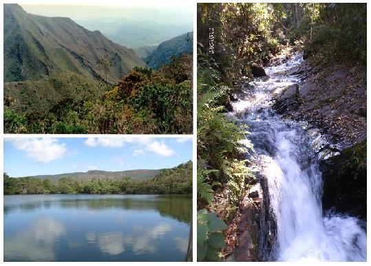 Parque Nacional da Serra do Gandarela em Minas Gerais
