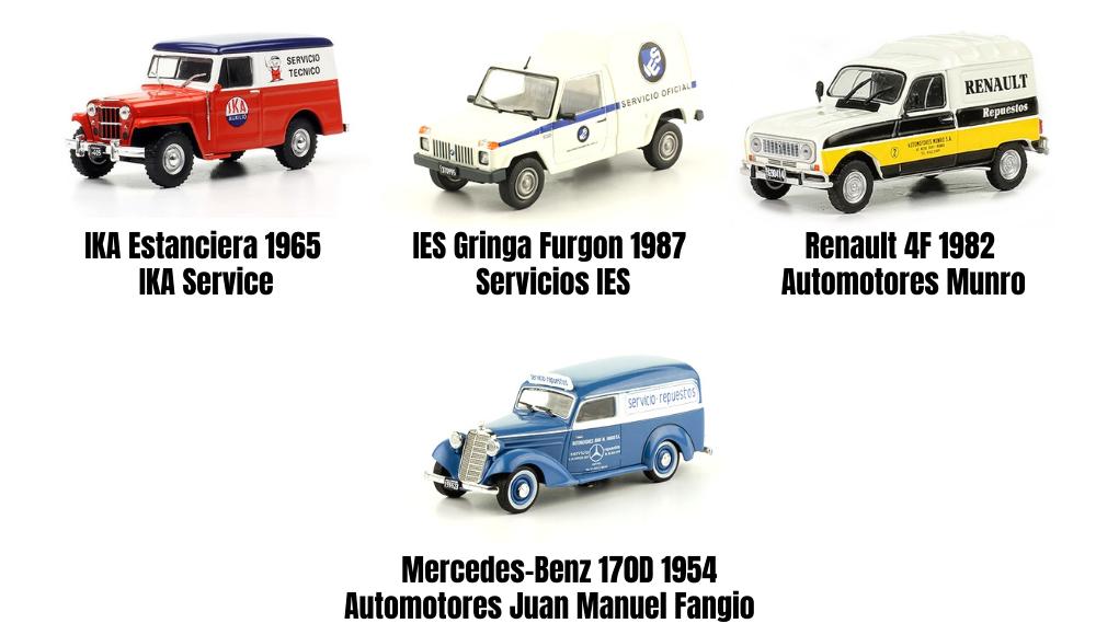 vehículos inolvidables de reparto y servicio salvat