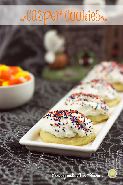 Casper Cookies | Cooking on the Front Burner #halloween