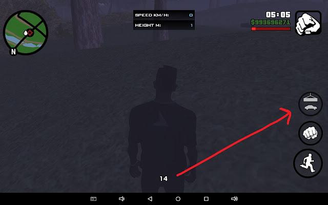 widget id gta sa android