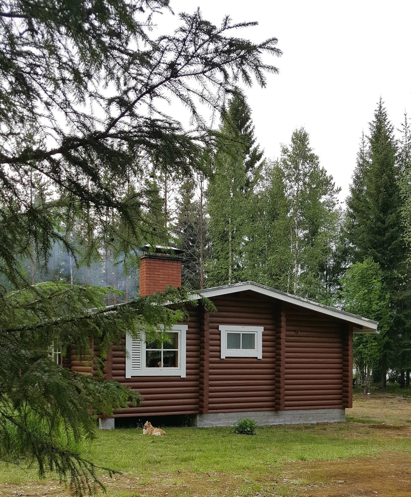 kesämökki Pohjois-Karjalassa