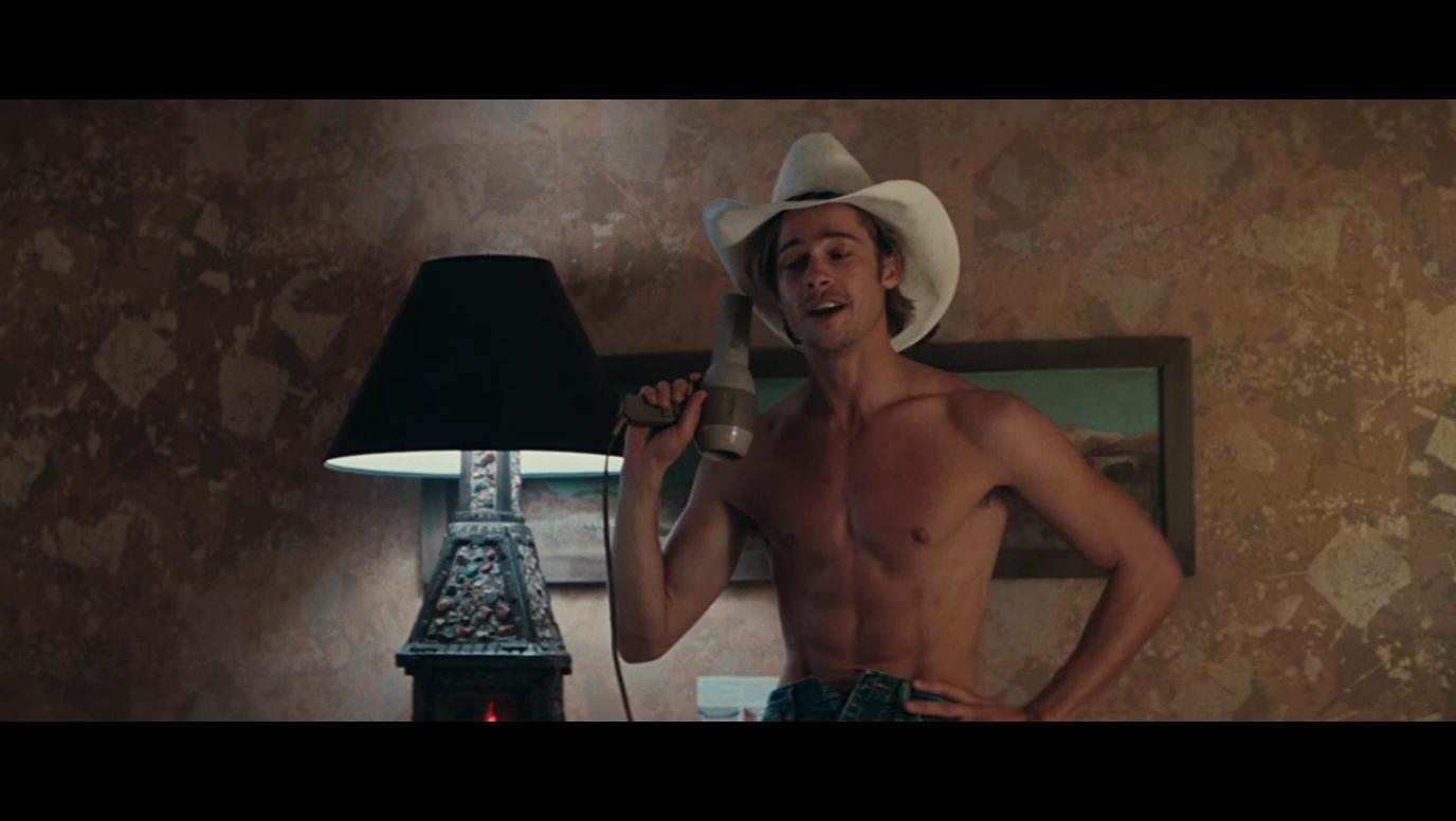 Brad pitt nude dick