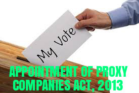 Provisions-Proxy-Companies-Act-2013