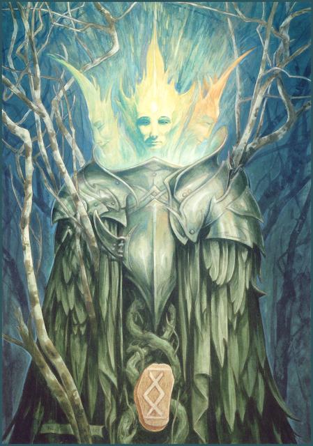 The Runes of Elfland, Brian Froud