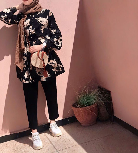 2019 Latest and Beautiful Casual Hijab Looks