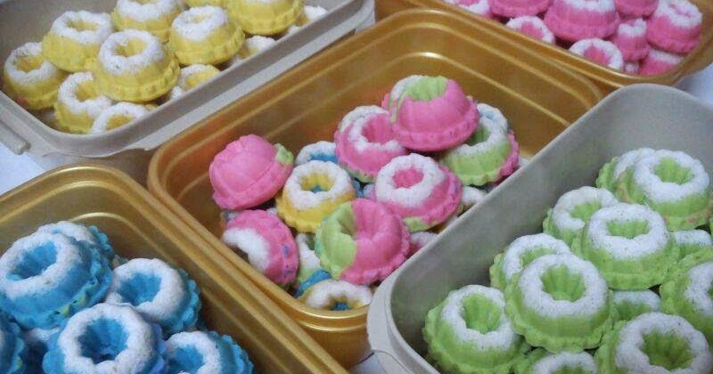 Resep Cake Kukus Untuk Jualan: Resep Cara Membuat Putu Ayu Empuk Manis Untuk Jualan