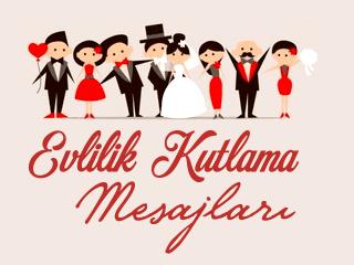 Evlilik Kutlama Mesajları