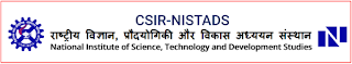 NISTADS Previous Question Papers and Syllabus -  Scientist, Technical Assistant