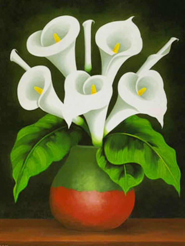 Jarrones Horizontales Decorativos Para Tulipanes Dibujos