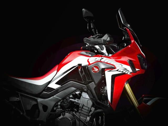Honda CRF1000L 2016 - Lagenda Africa Twin Kembali