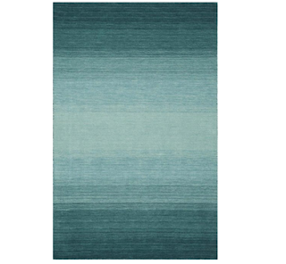 CLEARANCE Area Rug, Teal Striped 8X10 WOOL Carpet, Outdoor Rugs, Decorating Outdoor Space, Outdoor Furniture, Outdoor Space, Outdoor Space Decorating Tips, Patio Furniture,