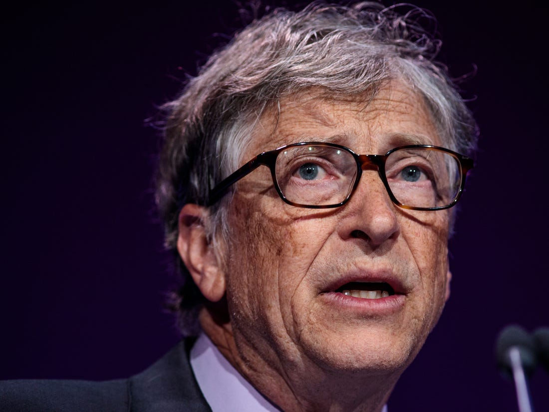 Bill Gates, Co-Founder and Co-Chair of the Bill and Melinda Gates Foundation