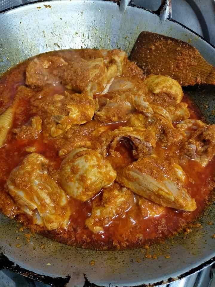 cara membuat rendang ayam paling senang