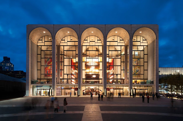 Photo of The Metropolitan Opera House in New York City (photo: Rolex/Ambroise Tézenas)