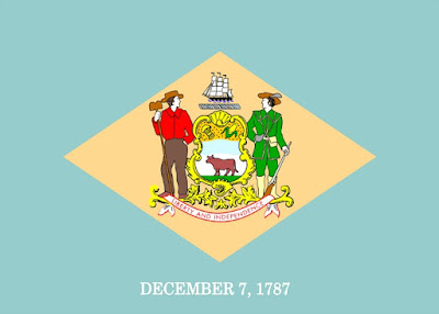 The Official Delaware State Facts - Delaware State Flag