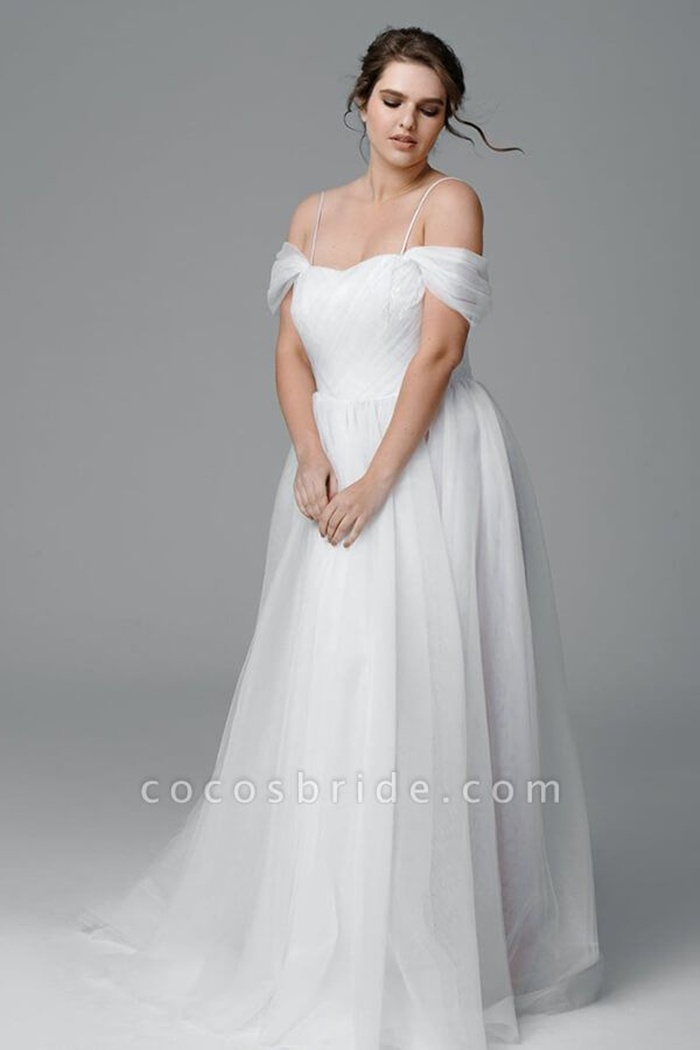 https://www.cocosbride.com/plus-size-ruffle-tulle-a-line-wedding-dress-g546?cate_2=52