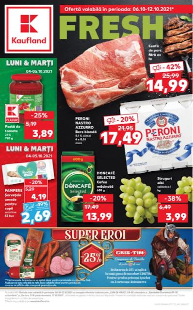 Kaufland Promotii + Catalog - Brosura 6-12.10 2021