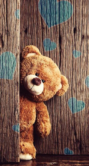 orso con cuori
