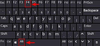 ini terbilang gampang dan mudah tanpa harus mencari Cara Mematikan Laptop dengan Keyboard Tanpa Ribet