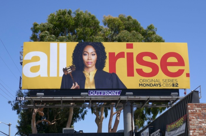 All Rise CBS series billboard