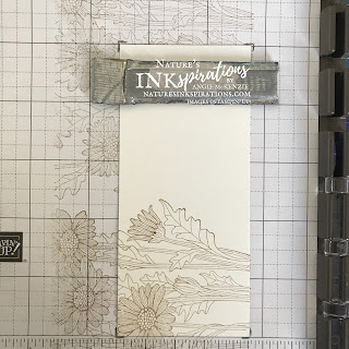 Hinge stamping with the Daisy Garden Cling Stamp Set | Nature's INKspirations by Angie McKenzie | Casually Crafting Blog Hop - May 2021