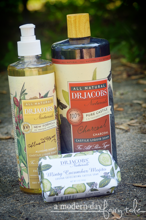 Naturally Clean with Dr. Jacobs Natural Castile Soaps {A Review + Discount Code}