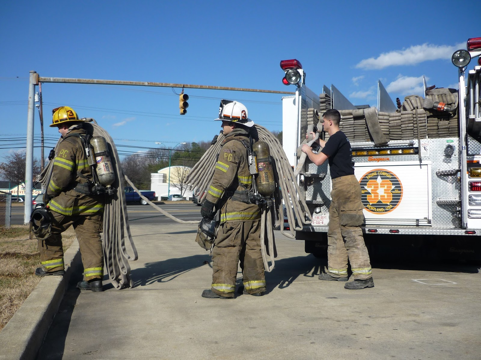 Lead Stretch Advance A Blog On The Fire Service