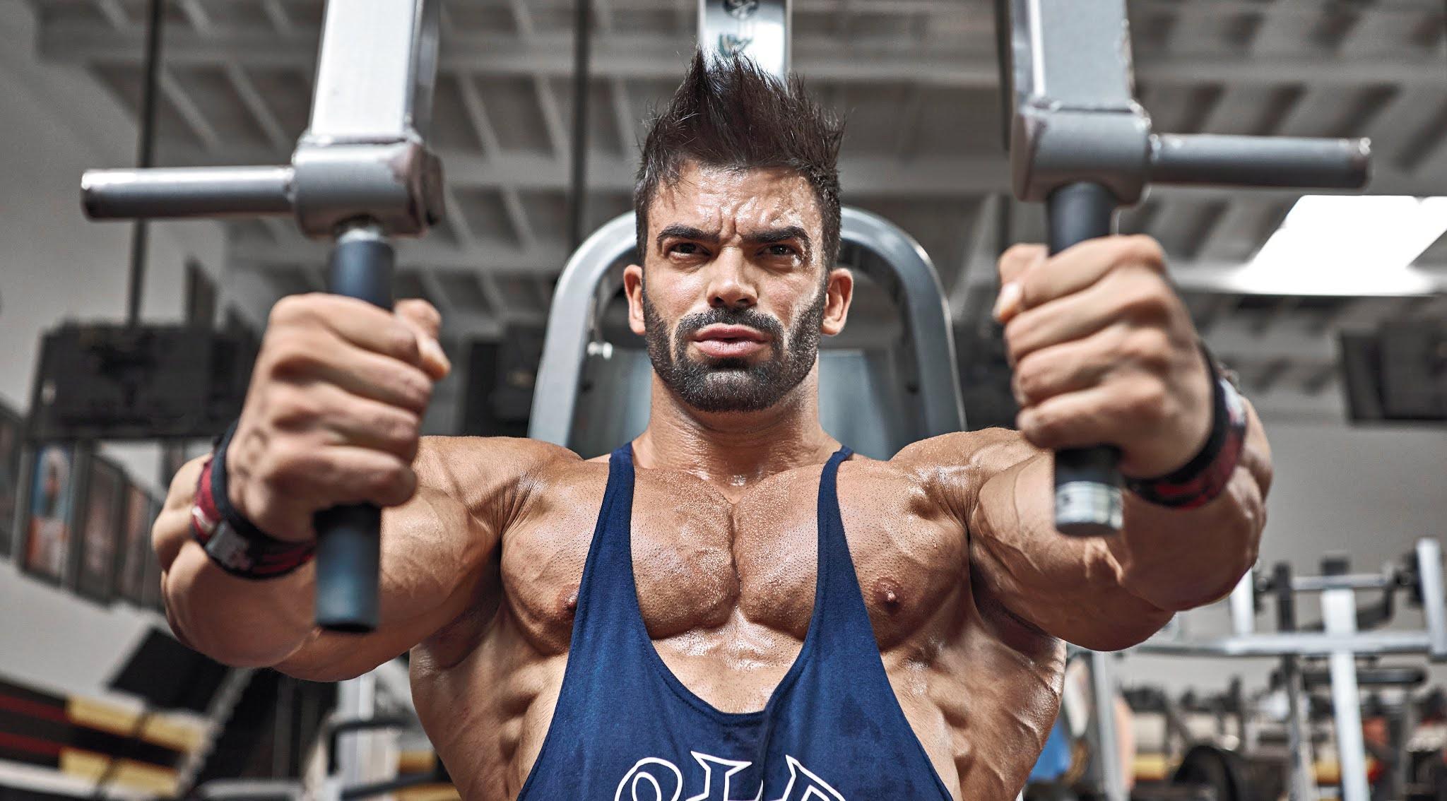 Sergi Constance gym workout routine