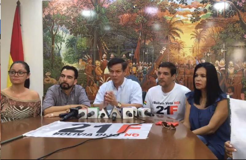 Cívicos cruceños sumaron acuerdos con el CONADE y hoy con el movimiento 21F / COMITÉ PRO SANTA CRUZ