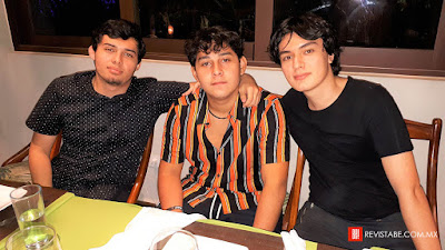 Marco Ross, Mauricio Molina y Aldo Ross.