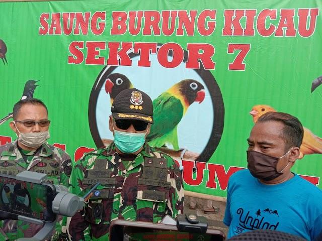 Dansektor 7 Gelar Launching Perdana Kontes Burung Berkicau Di Bantaran Citarum