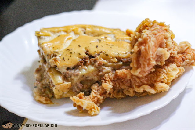 Orange and Spices' Chicken Tenders go well with lasagna!