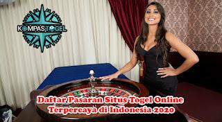 Daftar Pasaran Situs Togel Online Terpercaya di Indonesia 2020