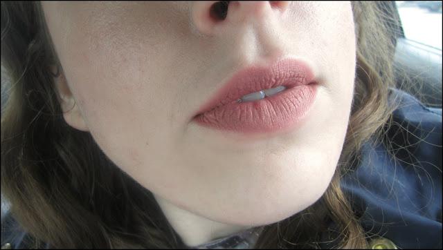 NYX Lip Lingerie Liquid Lipstick in 'Bedtime Flirt'