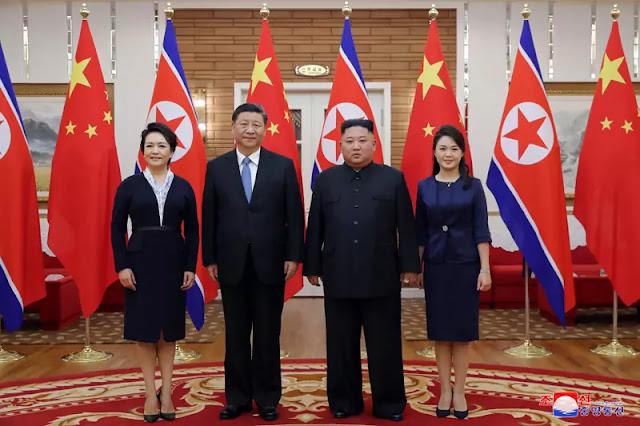 Kim Jong Un has talks with Xi Jinping, June 20, 2019
