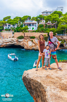 Cala Santanyí Beach www.WELTREISE.tv