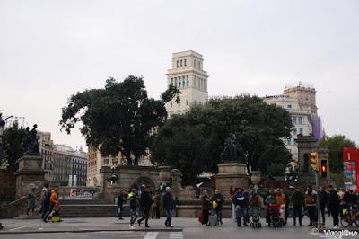 Piazza di Catalunya la piazza centrale di Barcellona